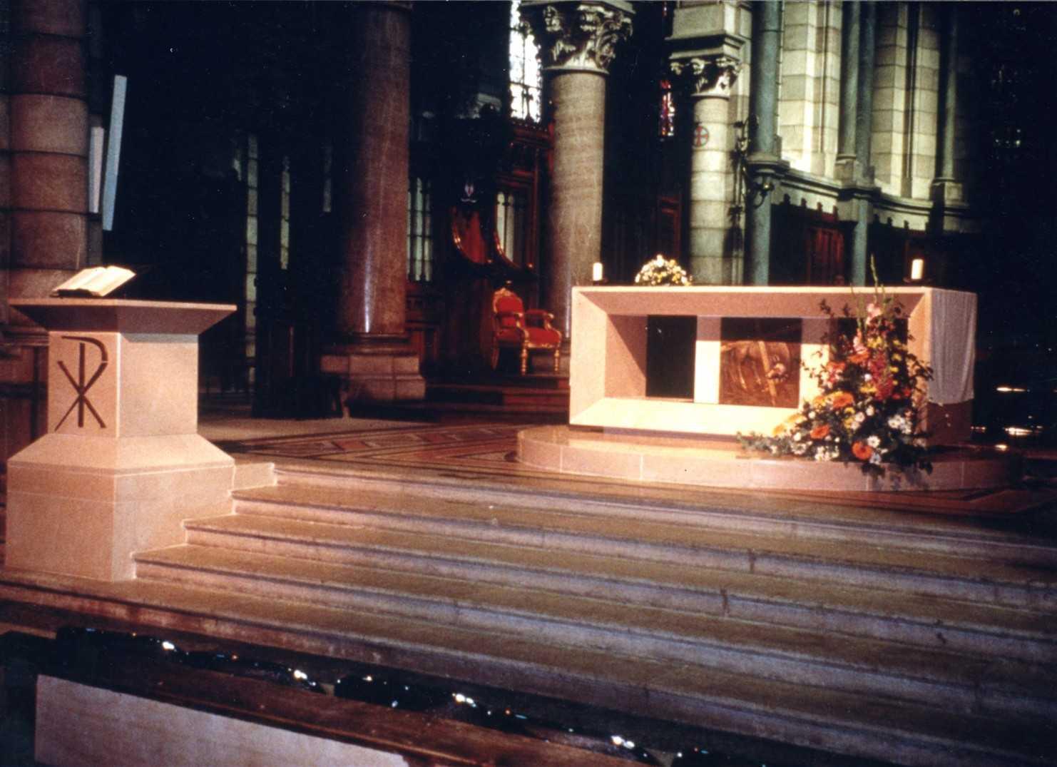 Mobilier liturgique – Cathédrale de Gap