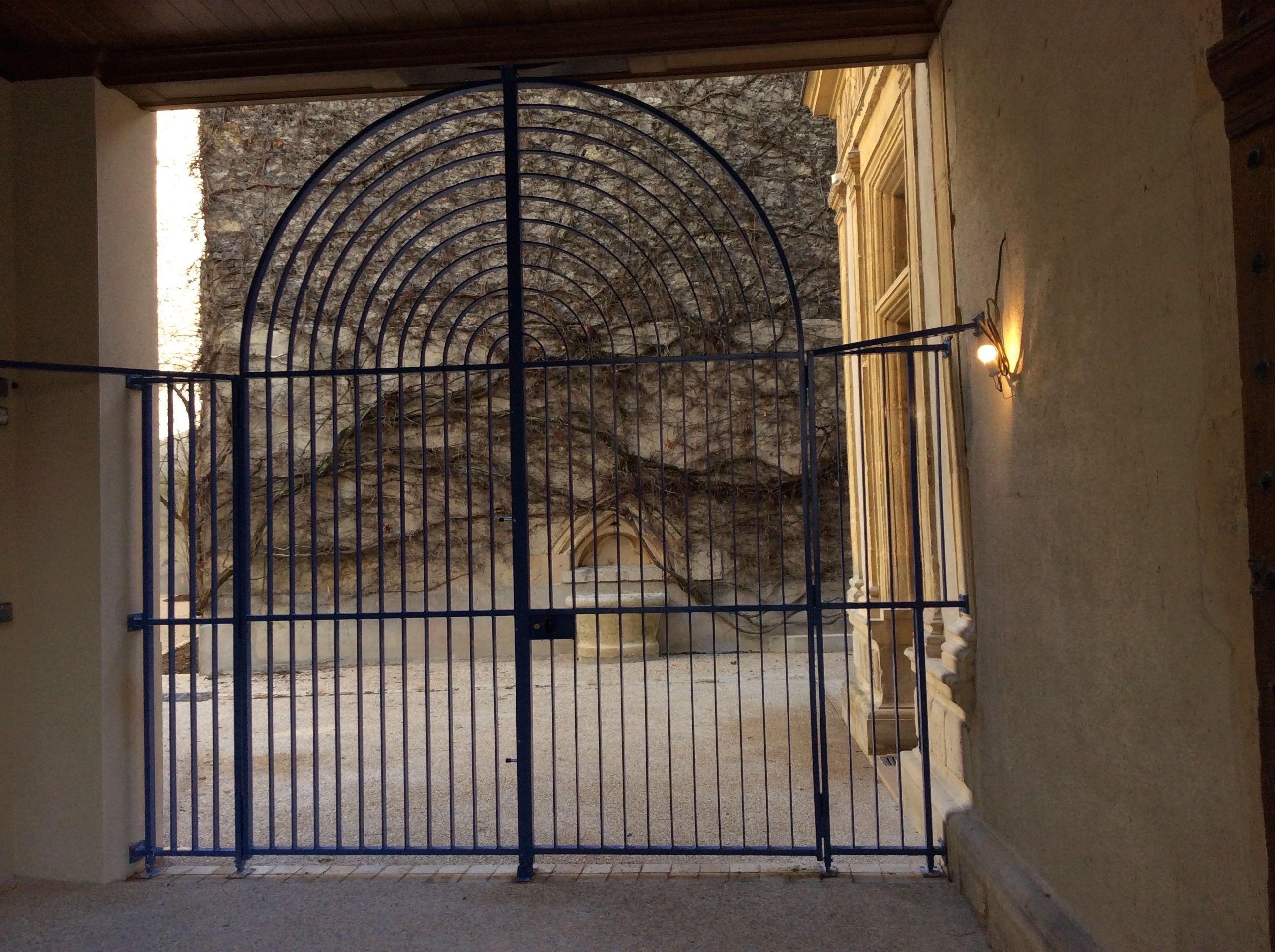 Nouveau portail d'entrée