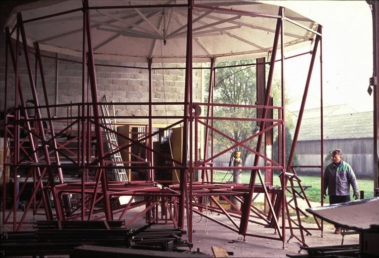 Construction à l'atelier
