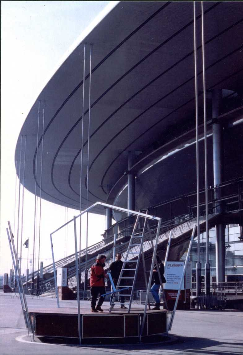 Le Kiosque Scénique pliable – Stade de France