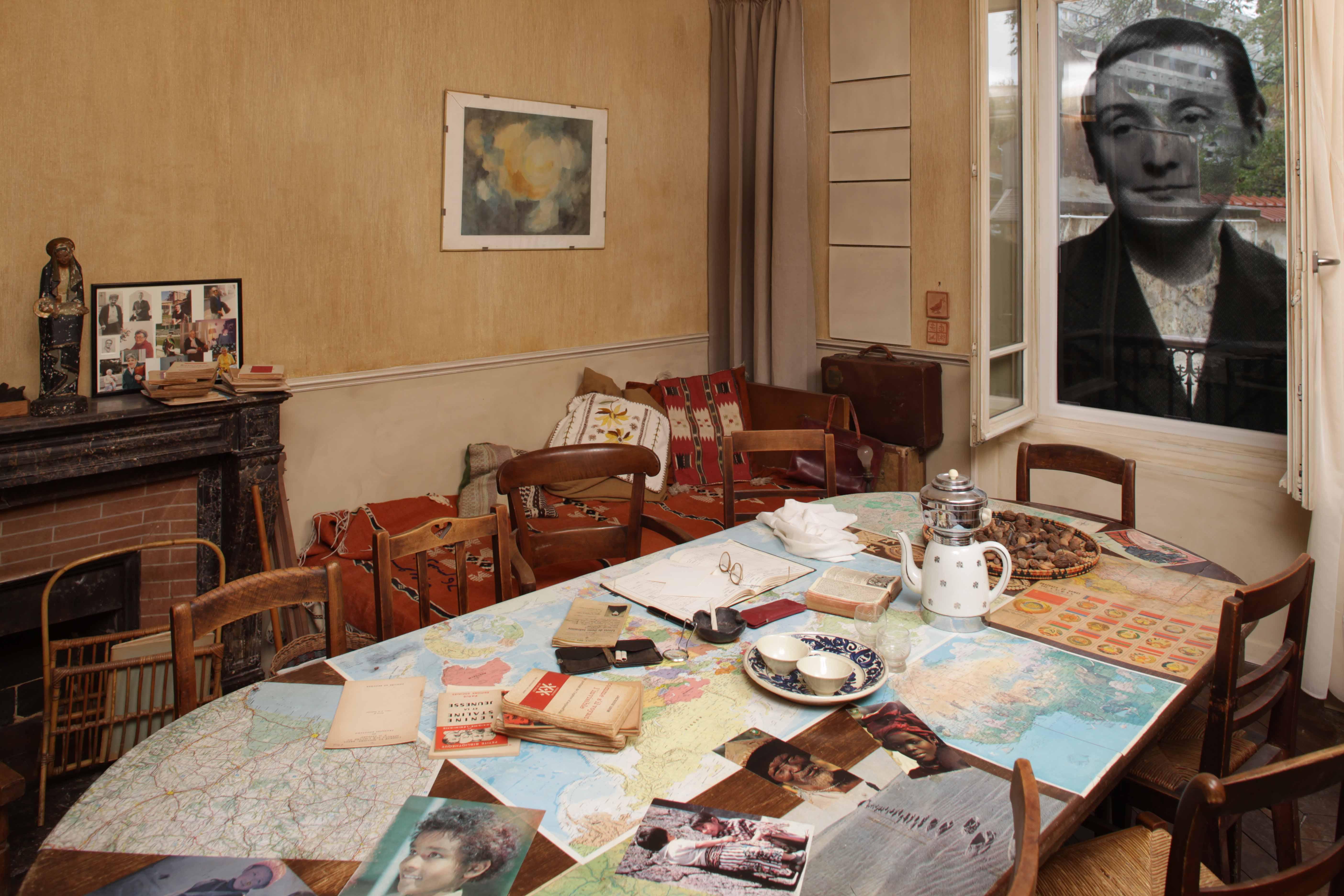 La chambre-bureau de Madeleine Delbrêl